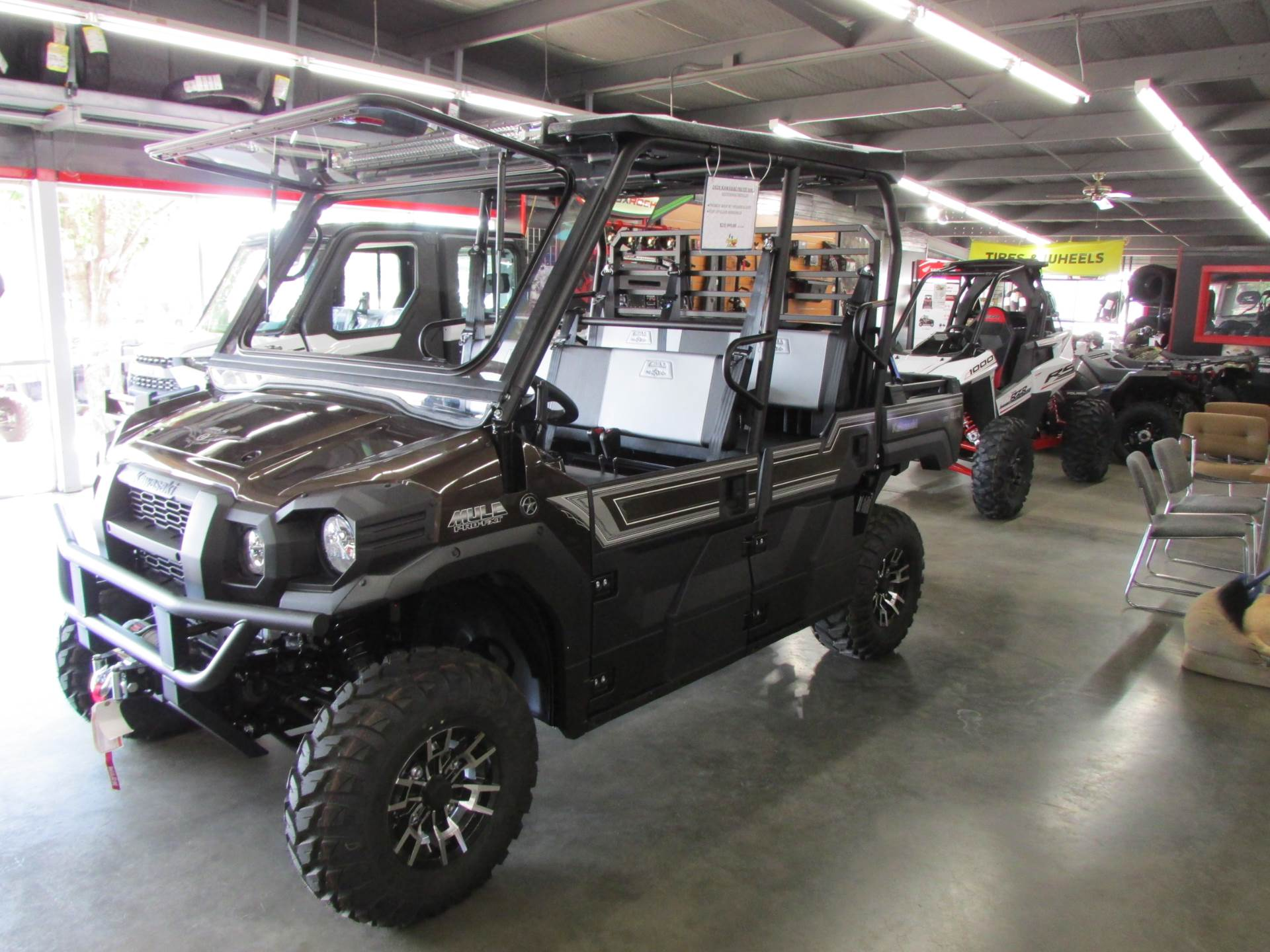 2020 Kawasaki Mule PRO-FXT Ranch Edition in Wichita Falls, Texas - Photo 5