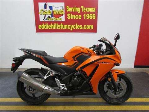 2016 Honda CBR300R in Wichita Falls, Texas - Photo 1