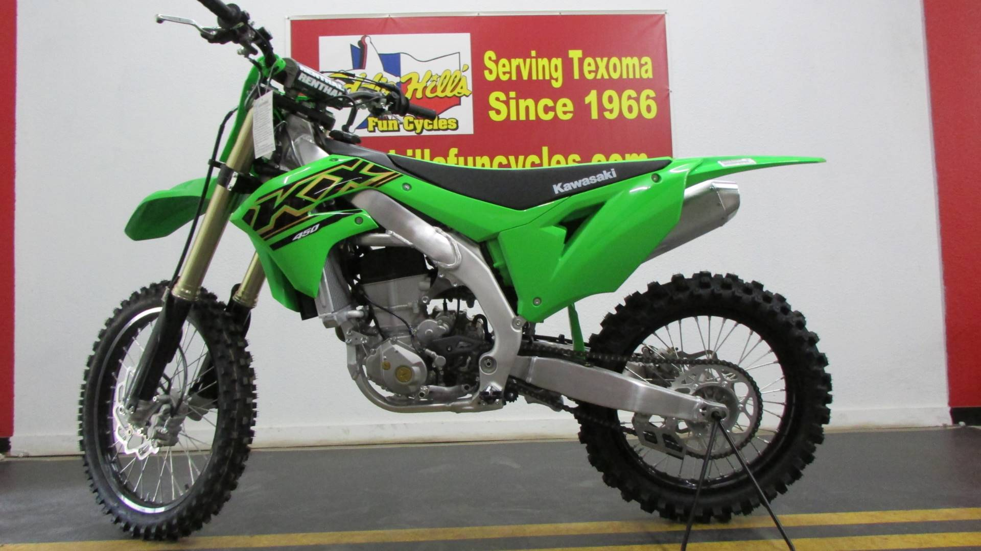 2021 Kawasaki KX 450 in Wichita Falls, Texas - Photo 2