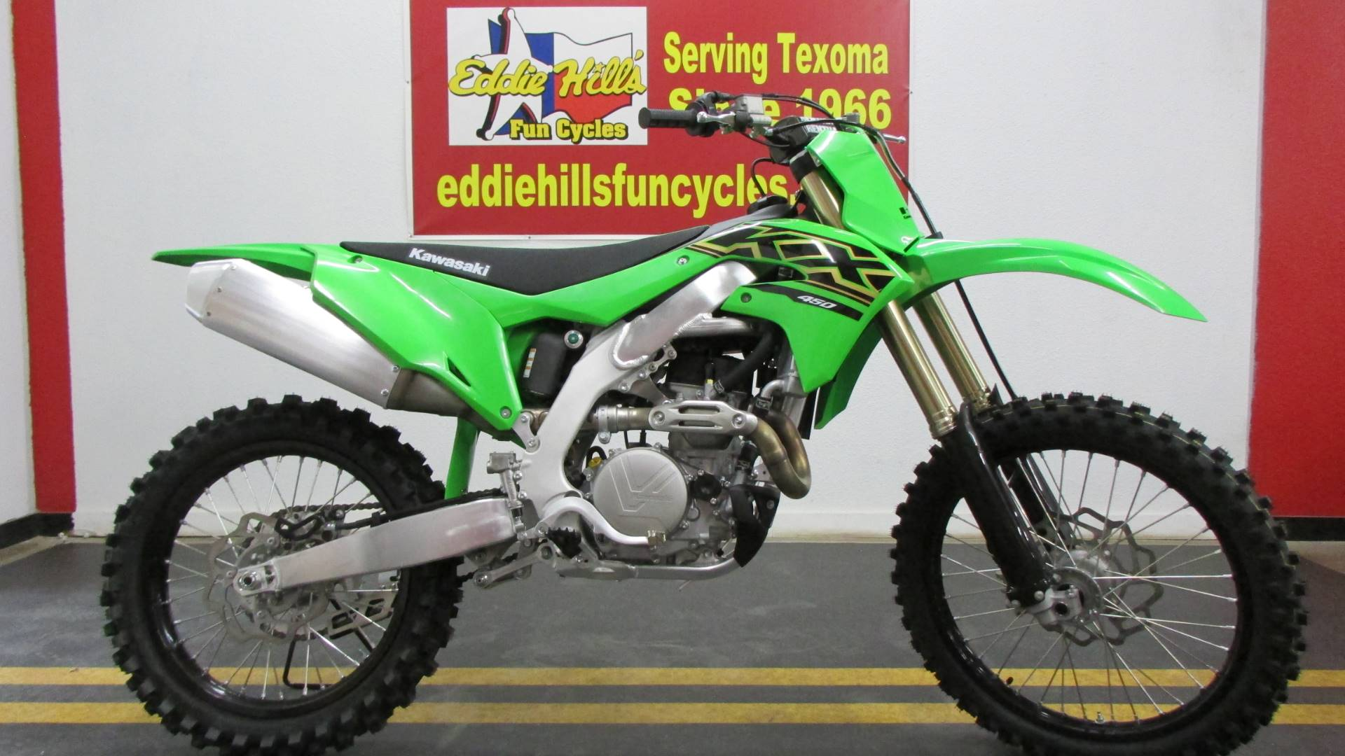 2021 Kawasaki KX 450 in Wichita Falls, Texas - Photo 1