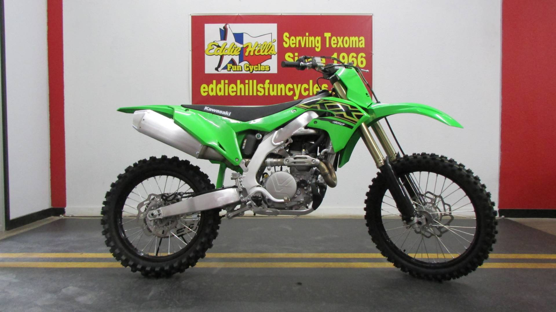 2021 Kawasaki KX 450 in Wichita Falls, Texas - Photo 5