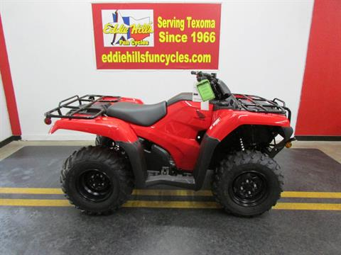 2019 Honda TRX420FM1 in Wichita Falls, Texas - Photo 1