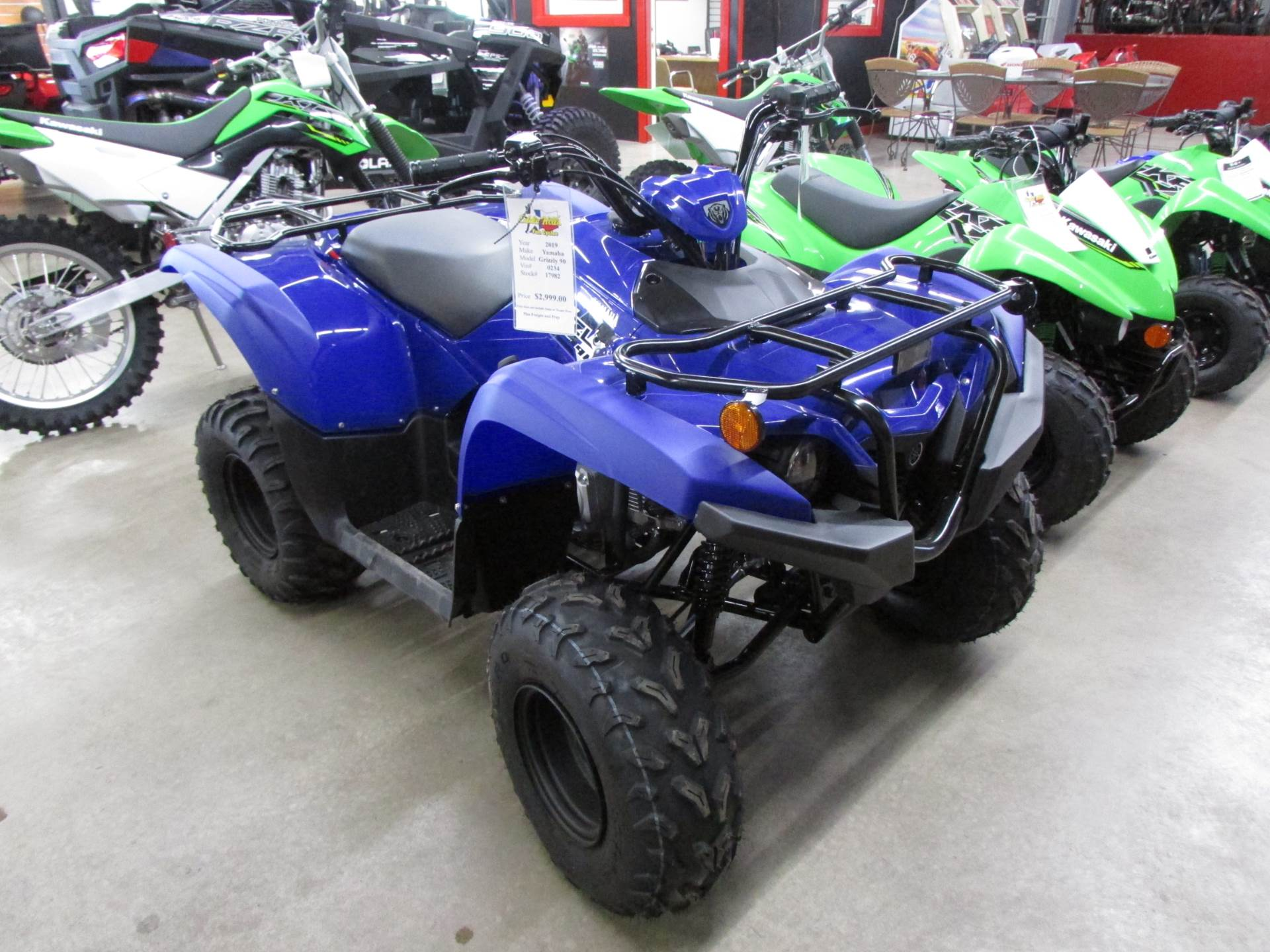 2019 Yamaha Grizzly 90 in Wichita Falls, Texas - Photo 1