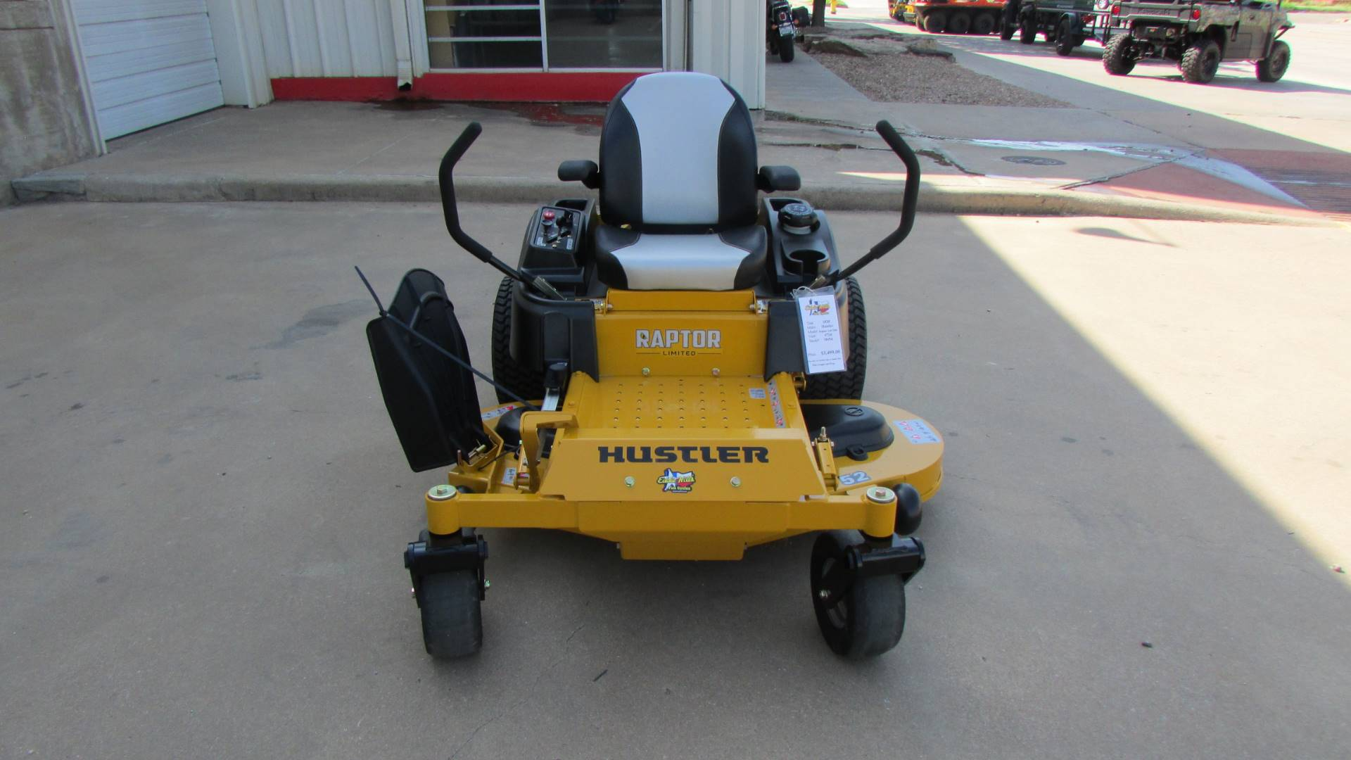 2020 Hustler Turf Equipment Raptor SD 48 in. Kawasaki 21.5 hp in Wichita Falls, Texas - Photo 3