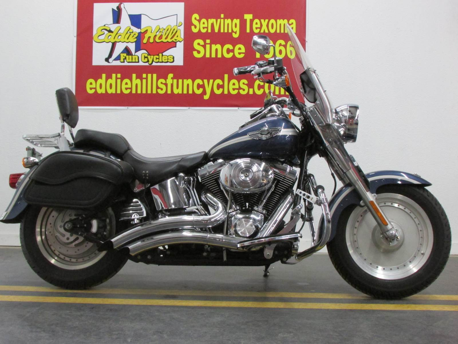 2003 Harley-Davidson FLSTF/FLSTFI Fat Boy® in Wichita Falls, Texas