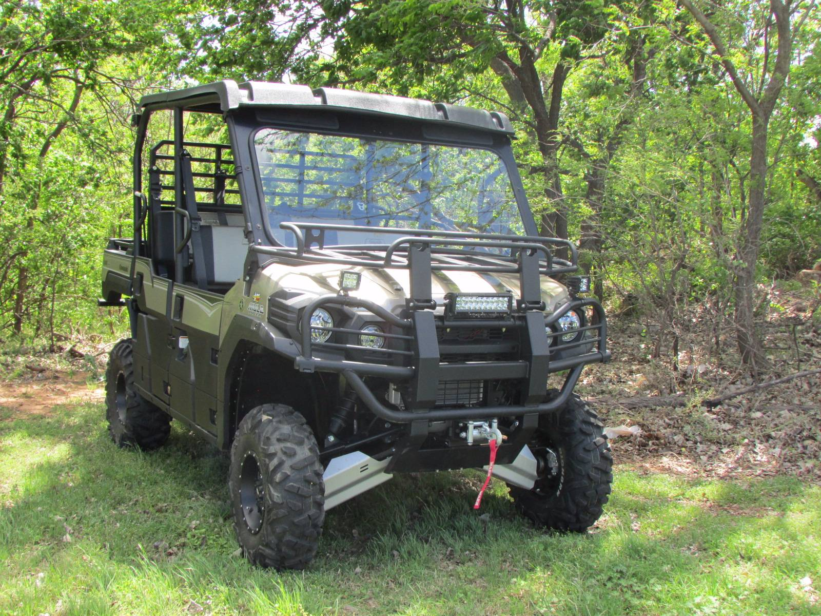 2017 Kawasaki Mule PRO-FXT Ranch Edition in Wichita Falls, Texas
