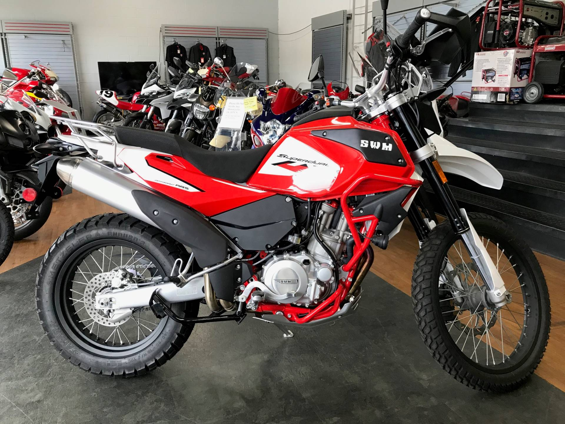 2019 SWM Motorcycles SD 650 X in Oakdale, New York - Photo 2