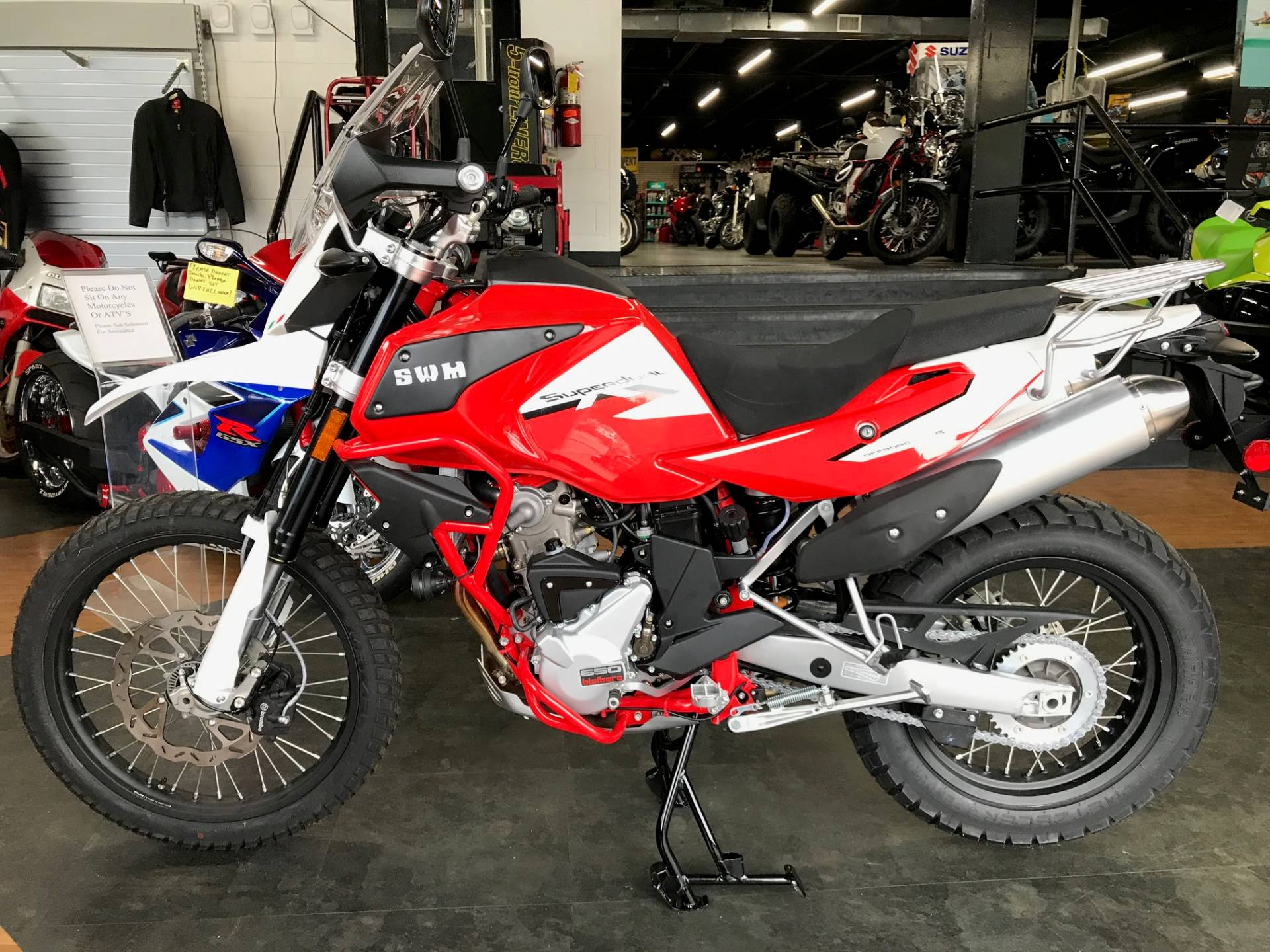 2019 SWM Motorcycles SD 650 X in Oakdale, New York - Photo 15