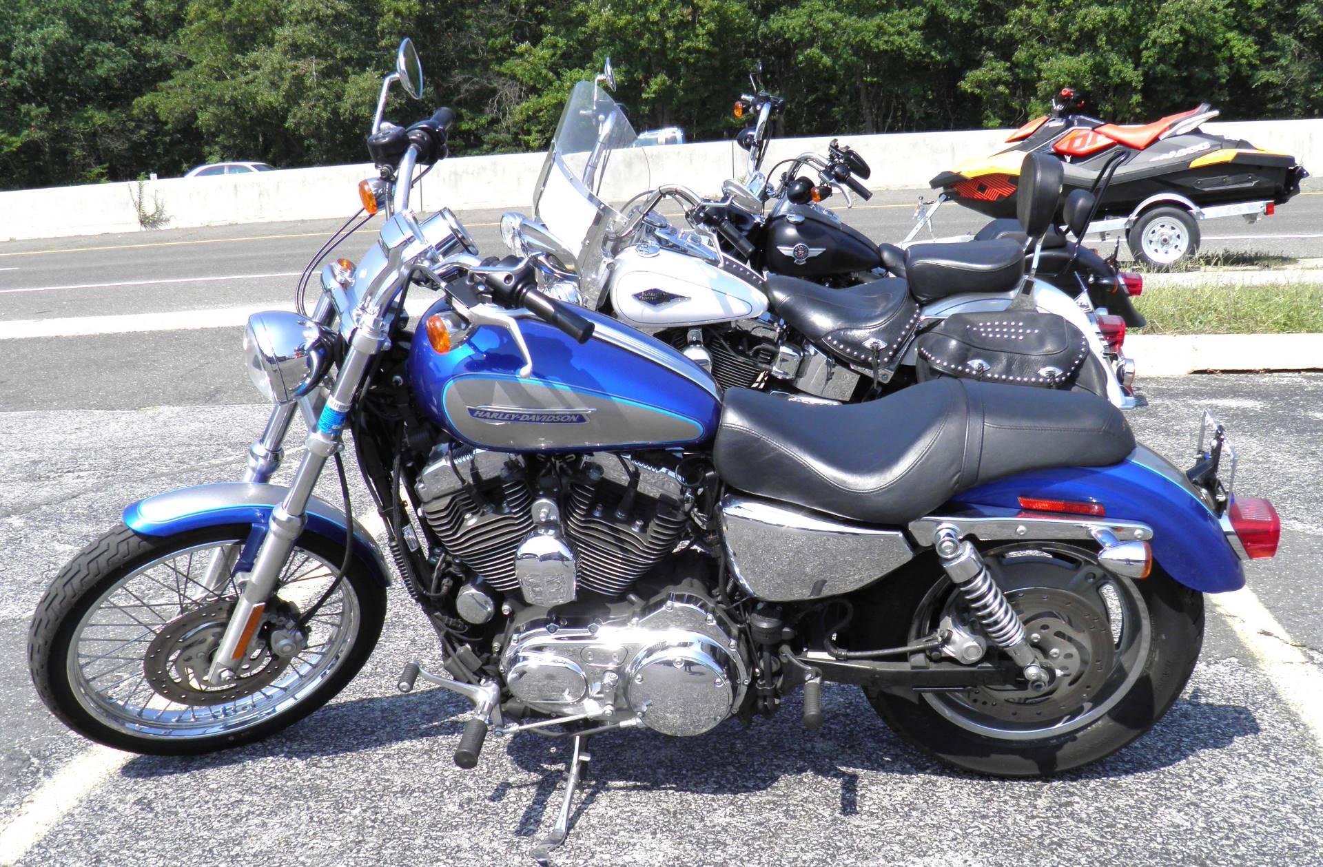 Harley Davidson Sportster 1200 >> Used 2009 Harley Davidson Sportster 1200 Custom Motorcycles In