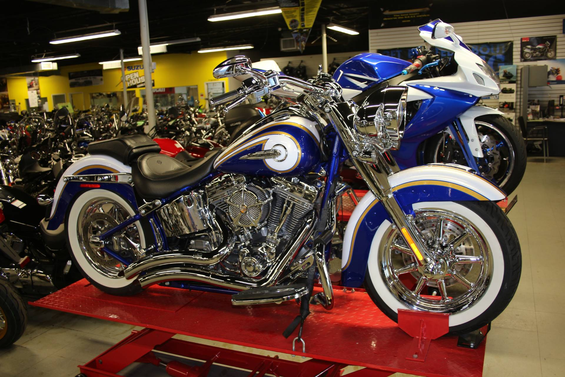 Used 2014 Harley-Davidson CVO™ Softail® Deluxe Motorcycles in ...