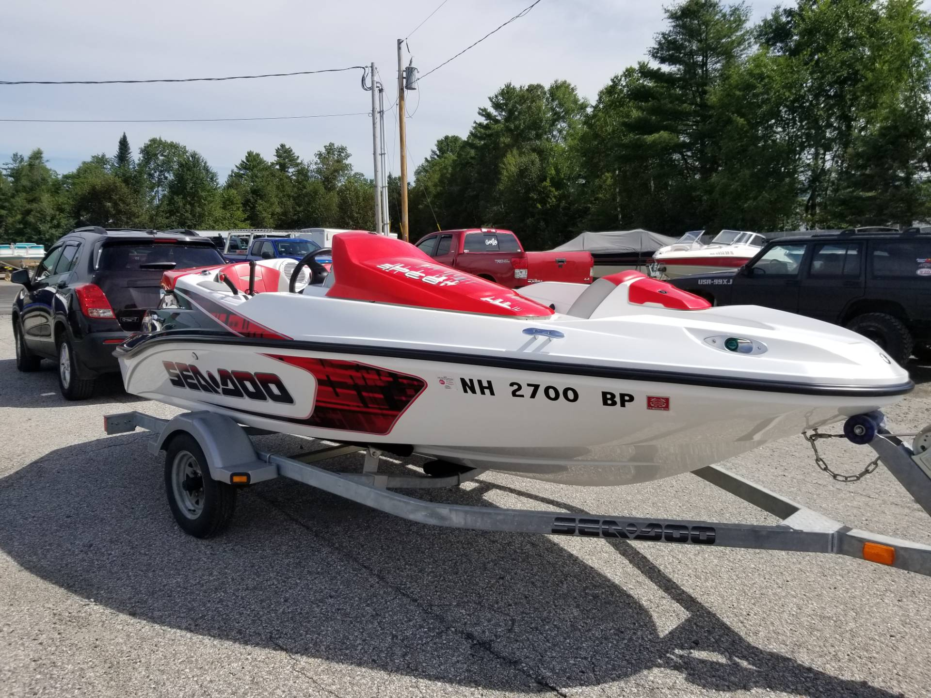 2008 Sea-Doo 150 Speedster 215 in Lancaster, New Hampshire - Photo 1