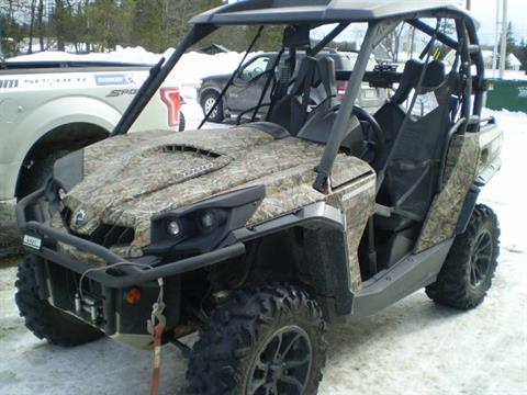 2015 Can-Am Commander 800 XT in Lancaster, New Hampshire