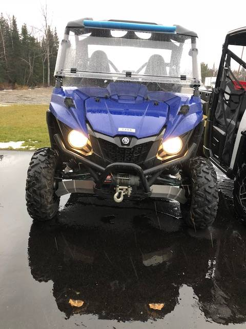 2016 Yamaha Wolverine R-Spec in Lancaster, New Hampshire