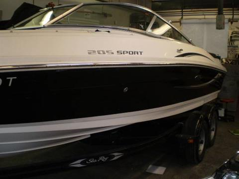 2010 Sea Ray Sport 205 in Lancaster, New Hampshire