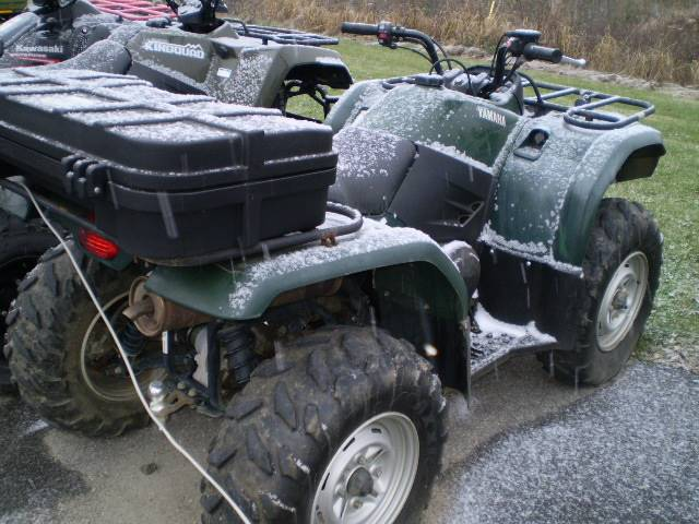 Used 2007 yamaha grizzly 400 auto 4x4 atvs in lancaster nh for Yamaha grizzly 400