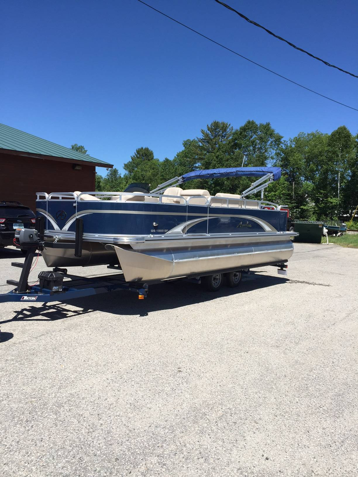 2016 Avalon GS Quad Fish 19 in Lancaster, New Hampshire - Photo 4