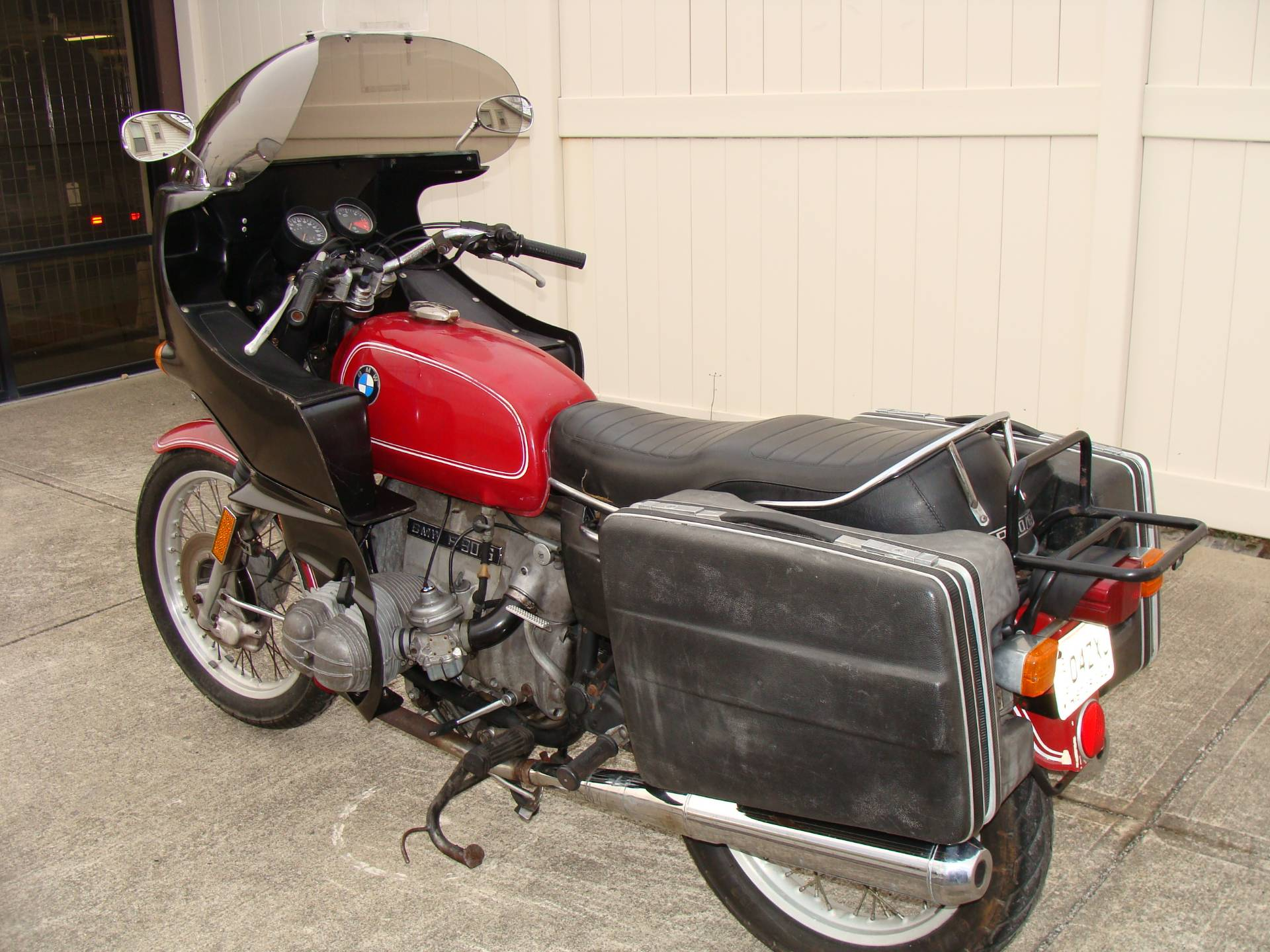 1974 BMW R90/6 with Hannigan Fairing & krauser Saddlebags in Lithopolis, Ohio