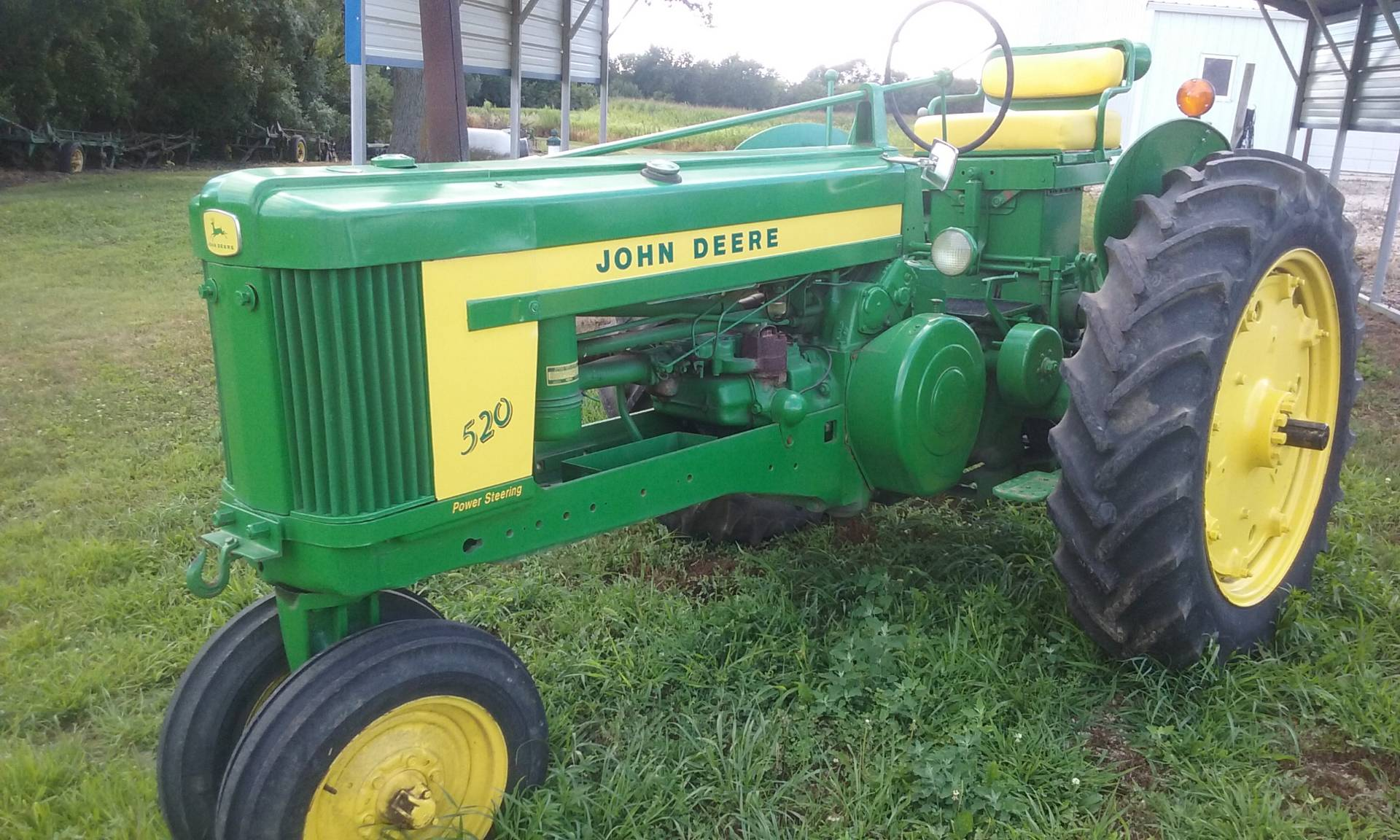 1957 John Deere 520 in Iowa Falls, Iowa
