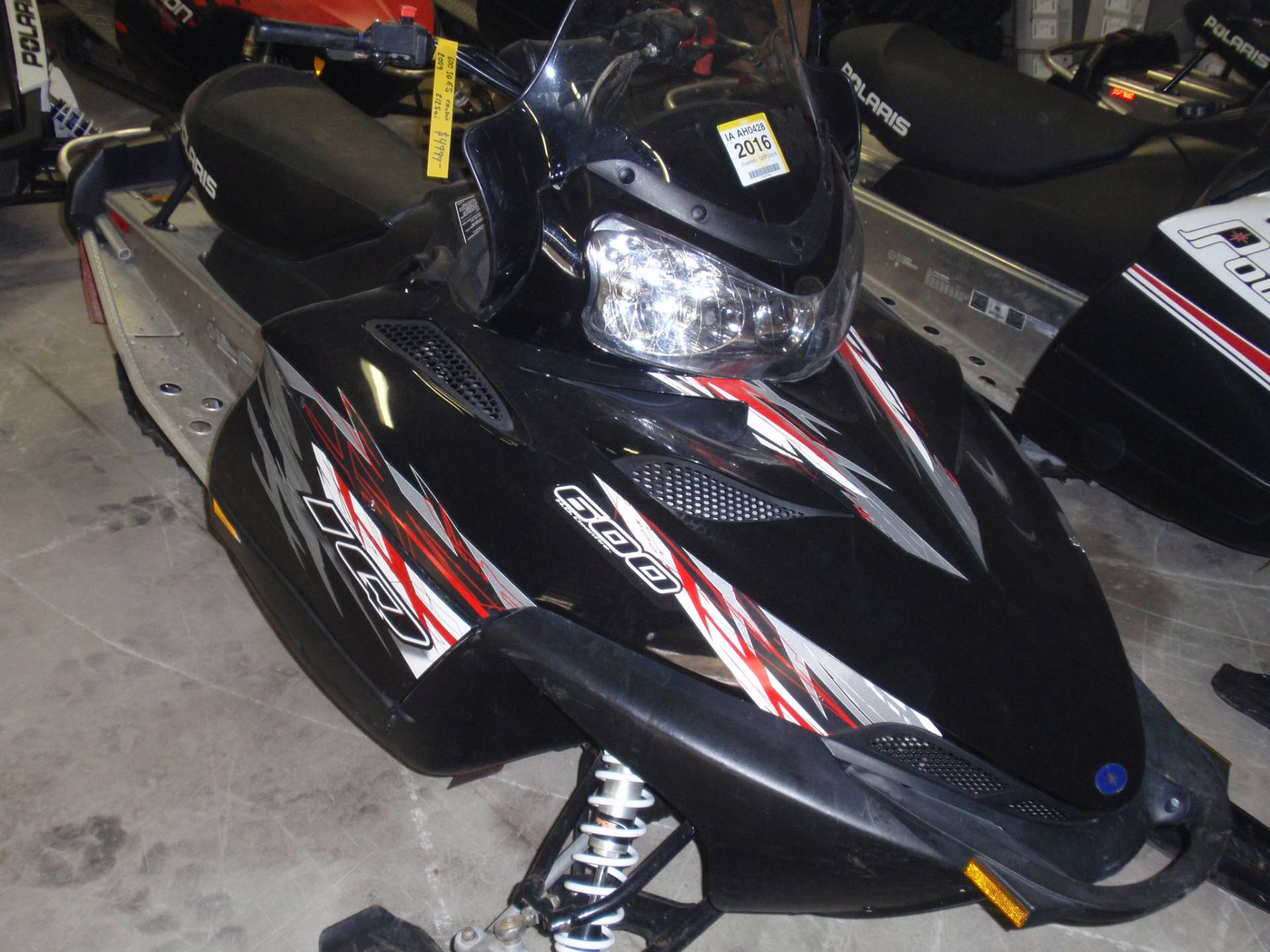 2009 Polaris 600 IQ ES in Iowa Falls, Iowa