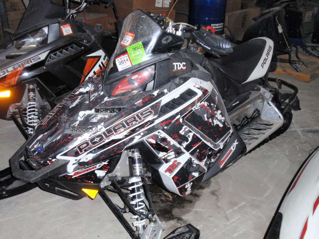 2011 Polaris 600 Rush Pro-R in Iowa Falls, Iowa