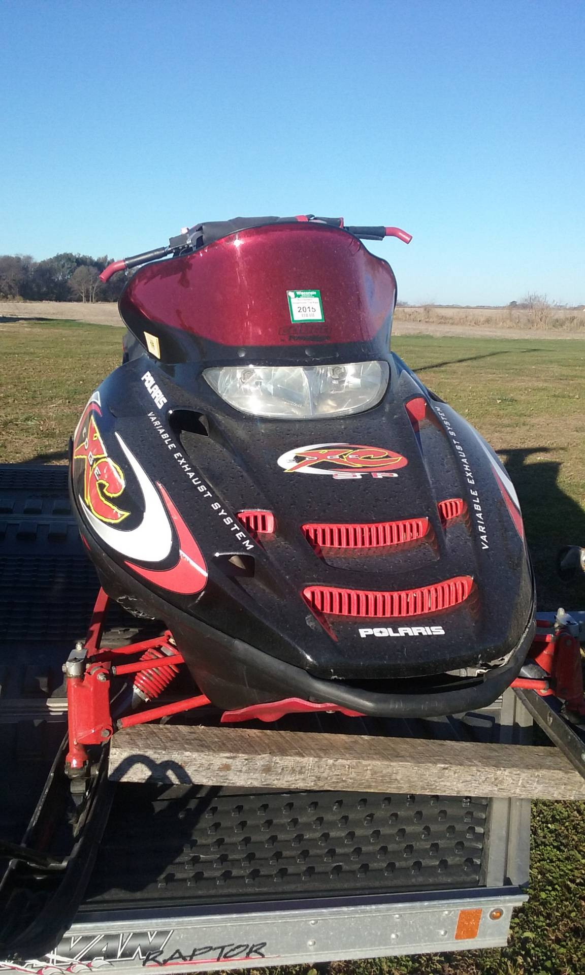 2002 Polaris Indy 700 XC SP in Iowa Falls, Iowa