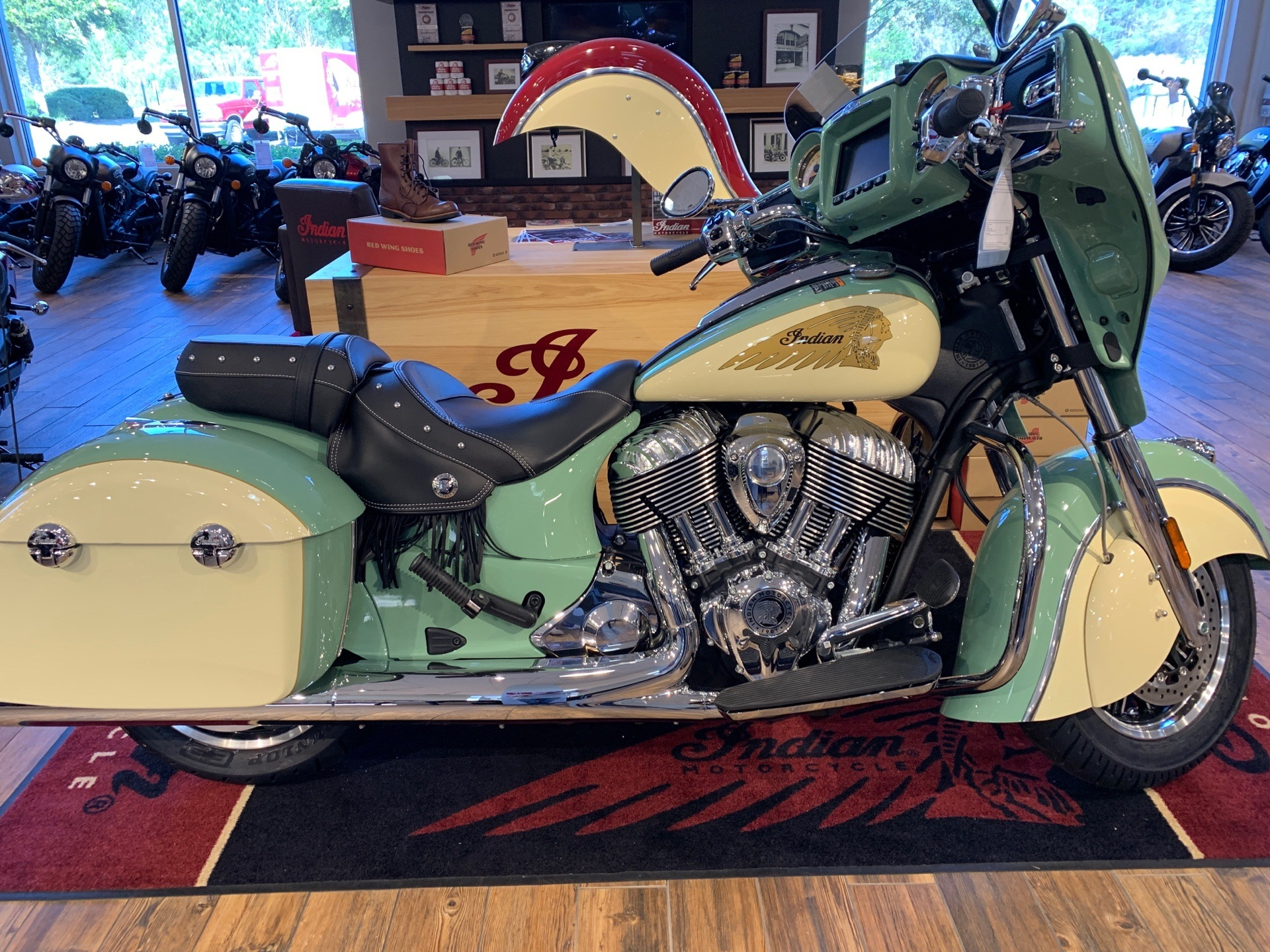 2019 Indian Chieftain® Classic Icon Series in Savannah, Georgia - Photo 1
