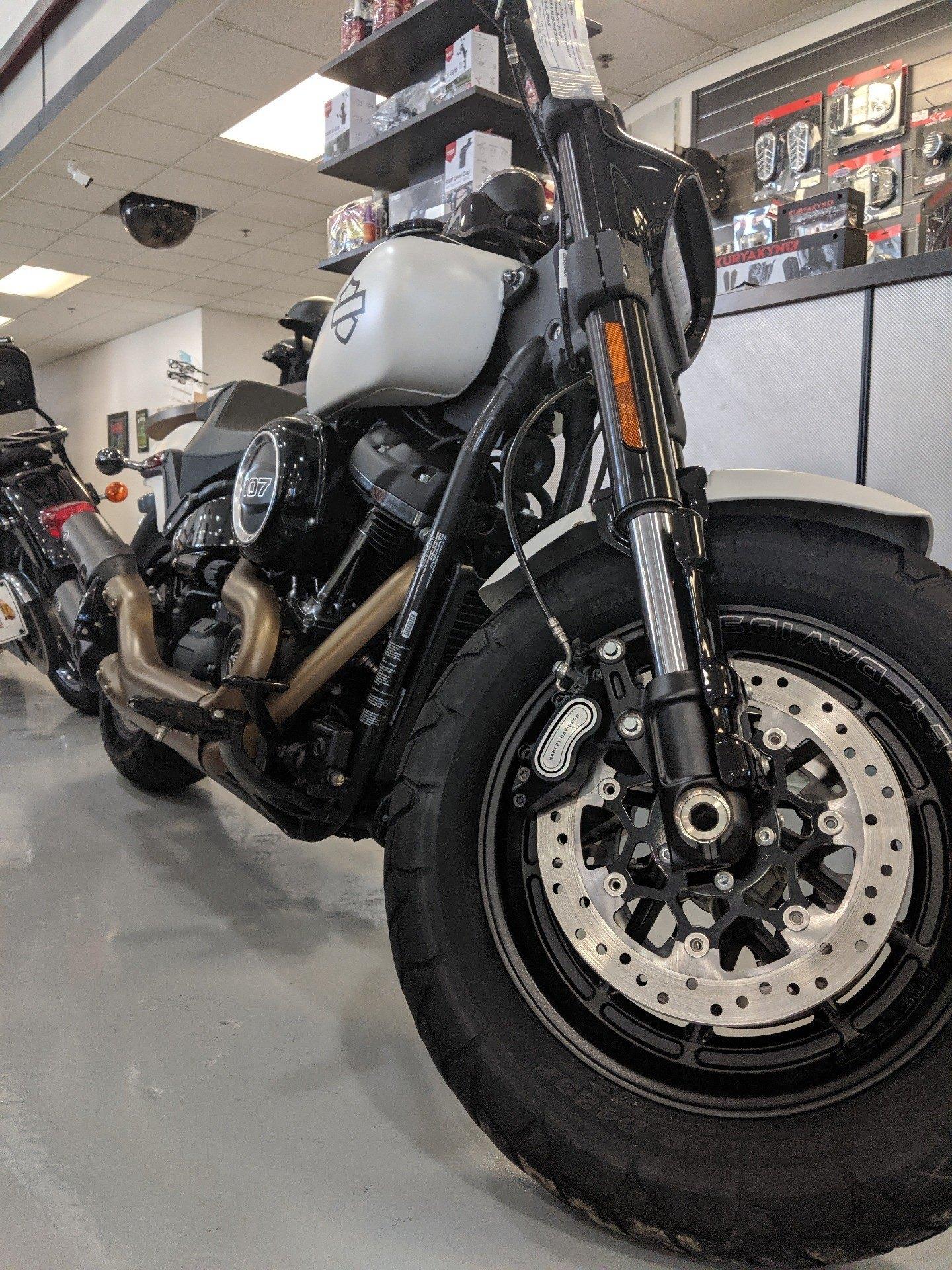 Used Tires Savannah Ga >> Used 2018 Harley Davidson Fat Bob 107 Motorcycles Savannah