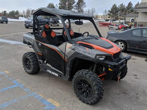 2017 Polaris General 1000 EPS Deluxe in Bemidji, Minnesota