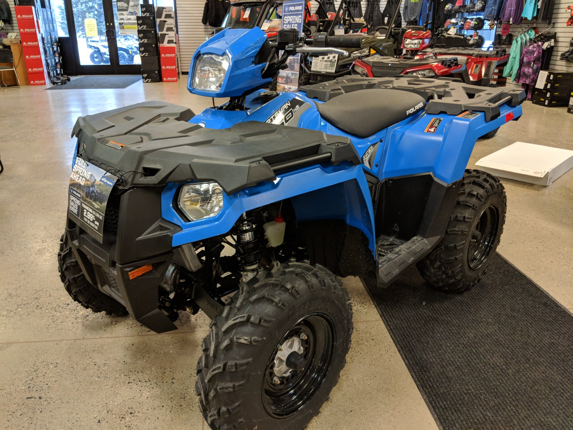 2018 Polaris Sportsman 450 H.O. in Bemidji, Minnesota