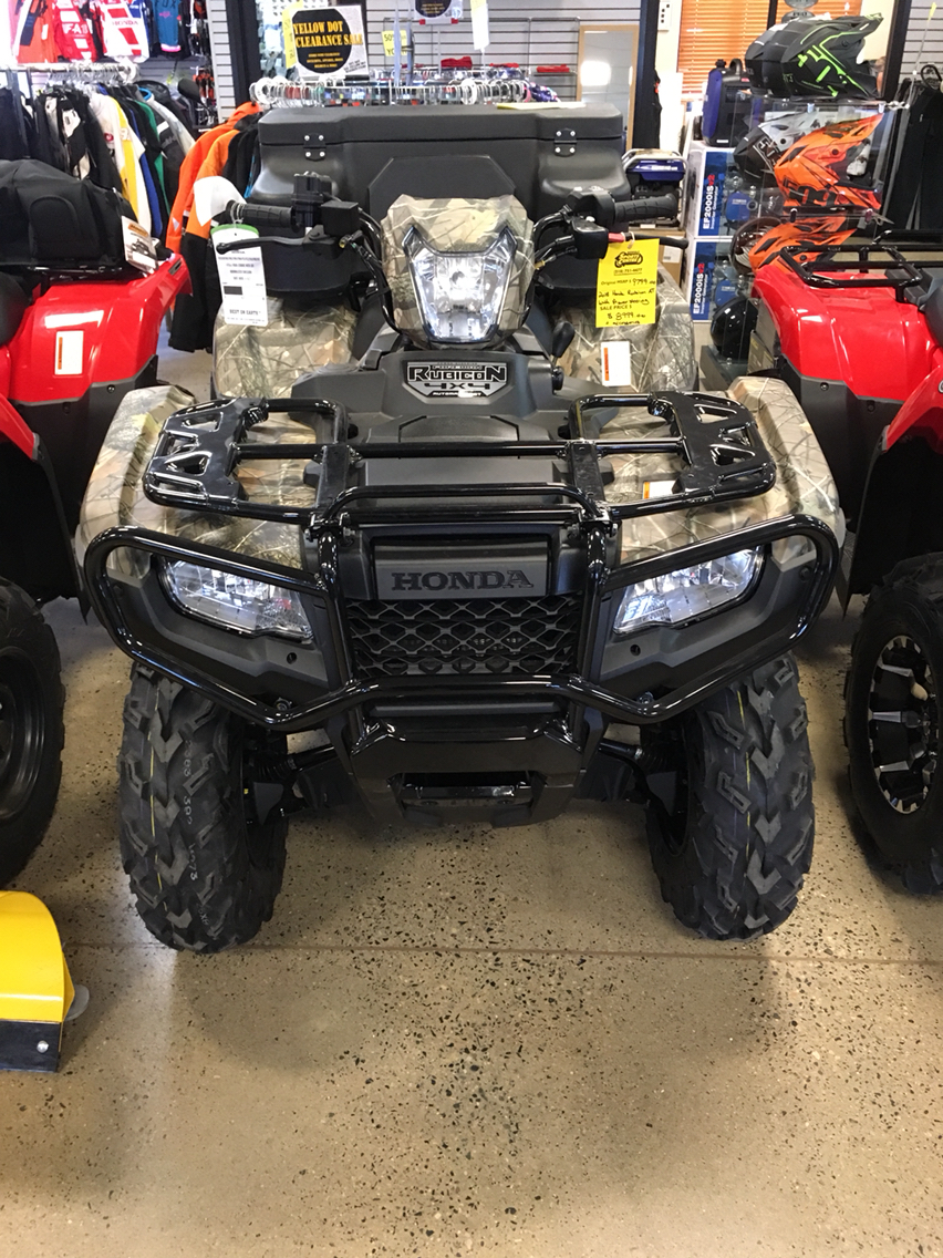 2018 FourTrax Foreman Rubicon 4x4 Automatic DCT EPS Del