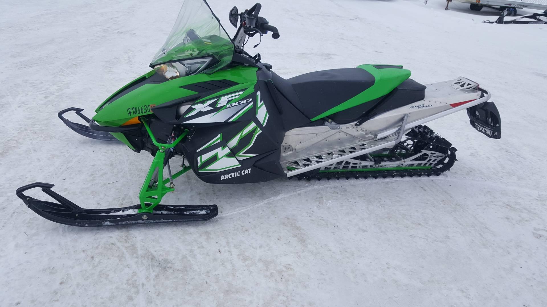2012 XF 800 Sno Pro