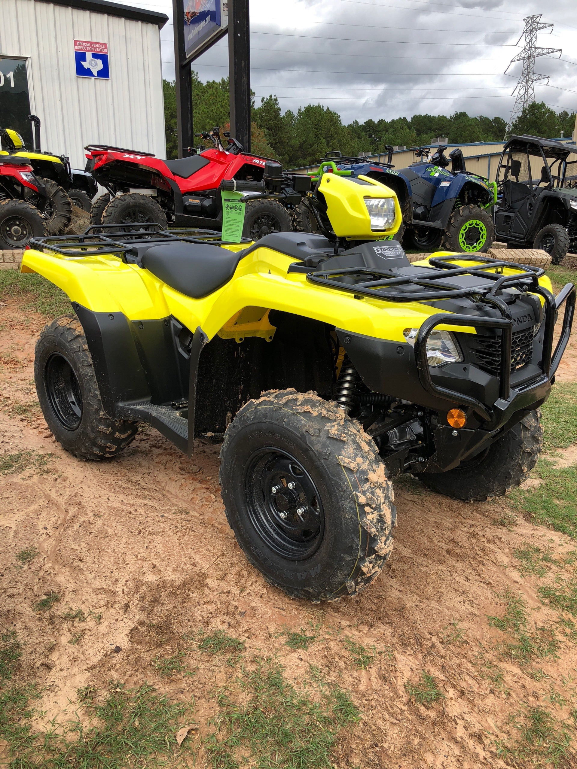 New 2019 Honda Fourtrax Foreman 4x4 Atvs In Tyler Tx Stock Number