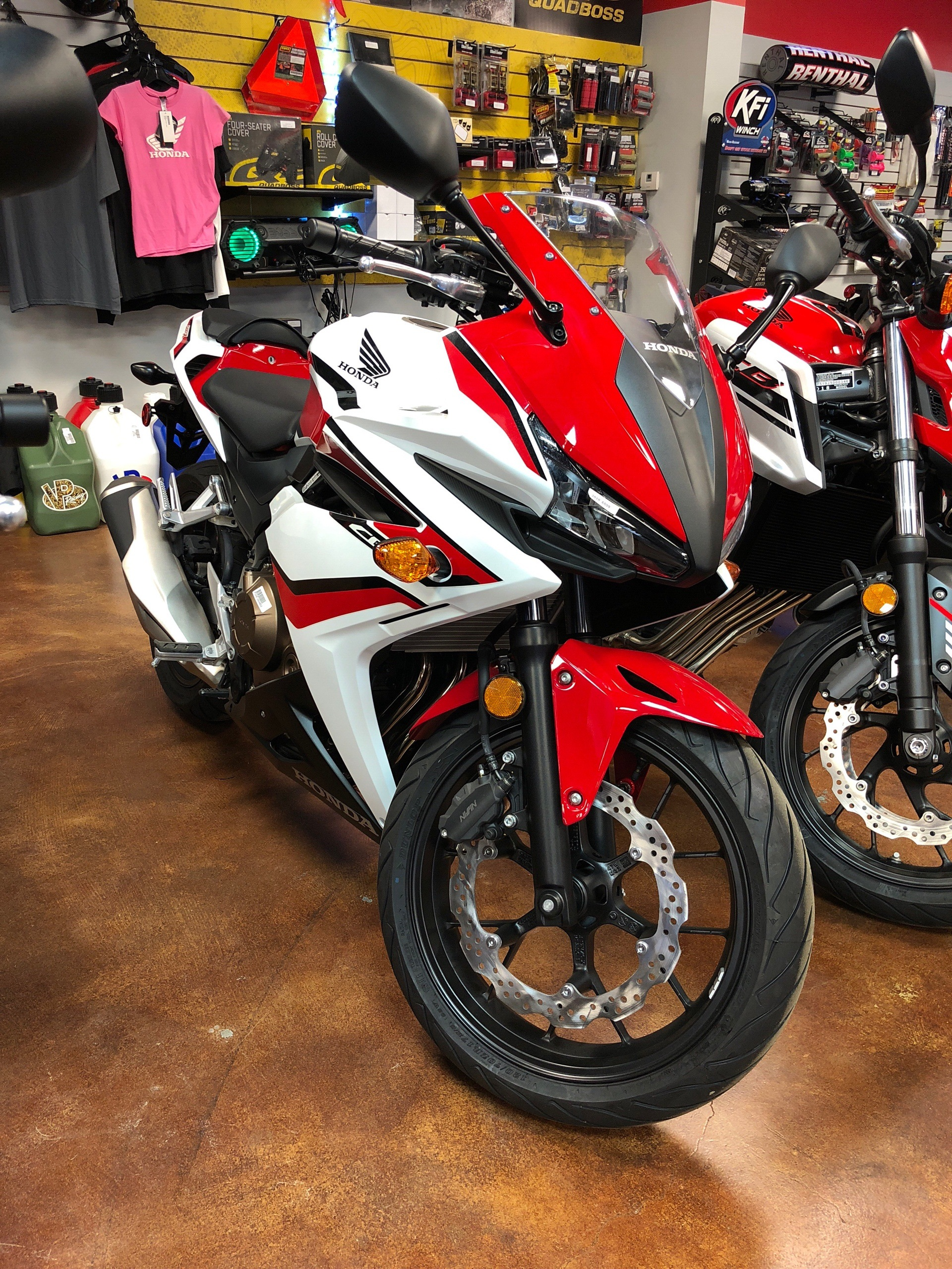 2018 Honda CBR500R in Tyler, Texas