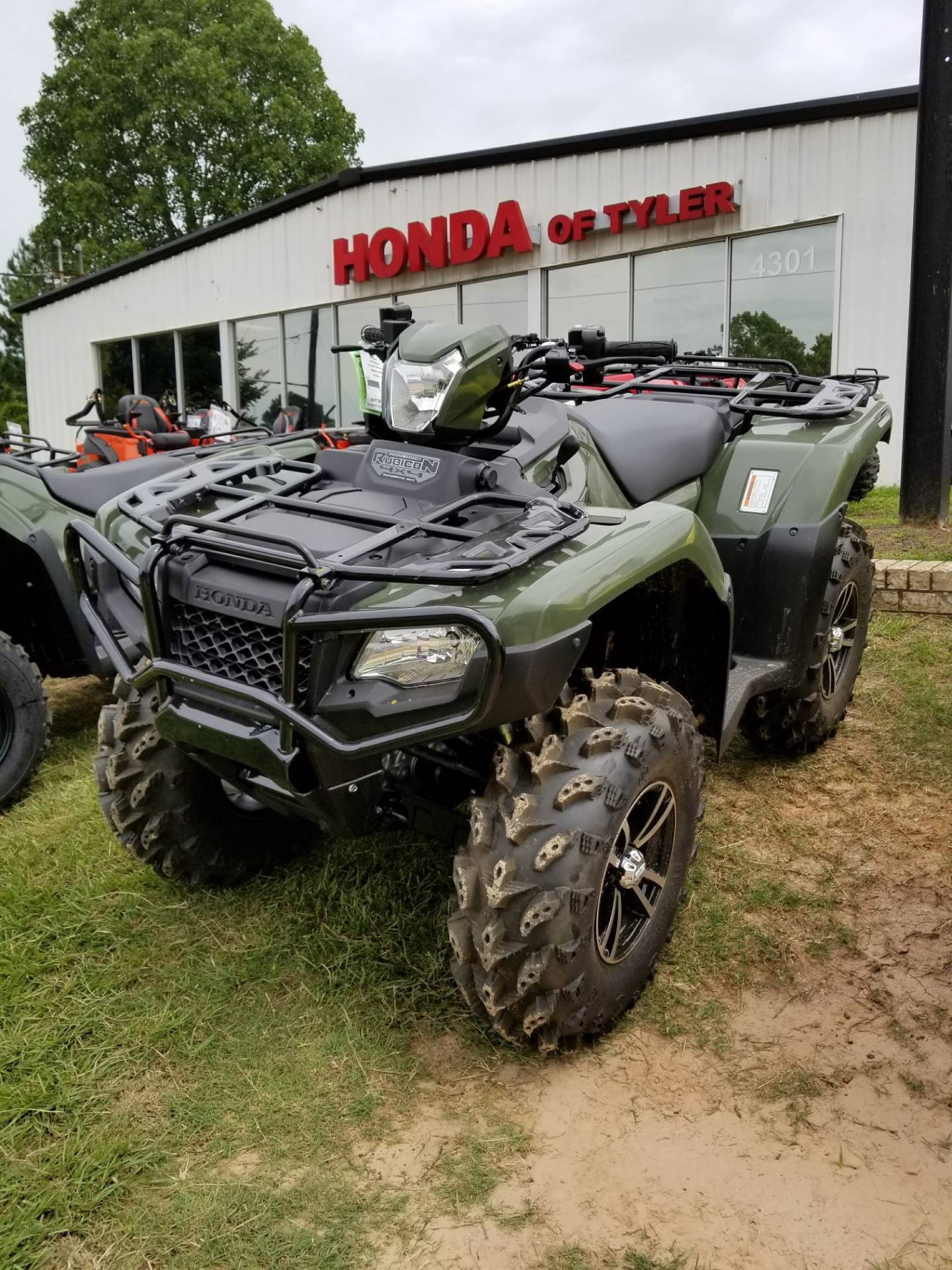 2017 Honda FourTrax Foreman Rubicon 4x4 EPS in Tyler, Texas