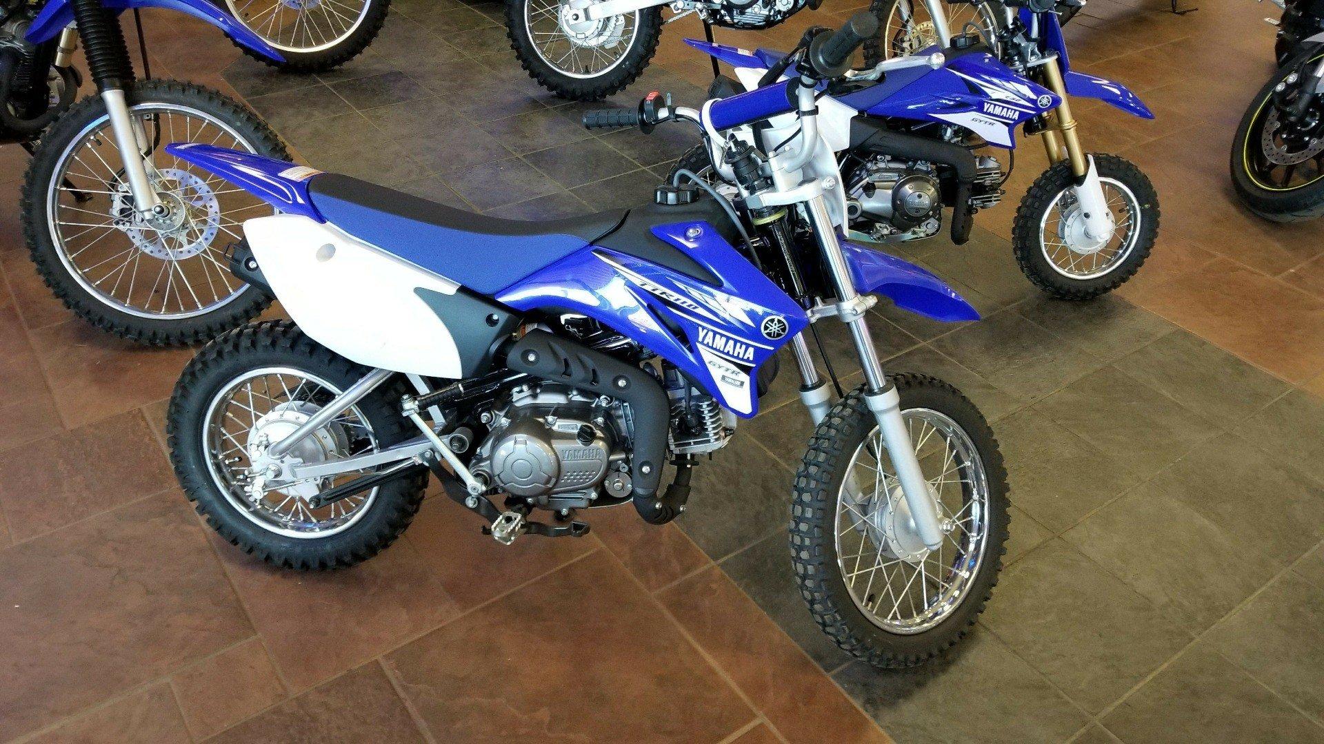 2017 Yamaha TT-R110E for sale 5842
