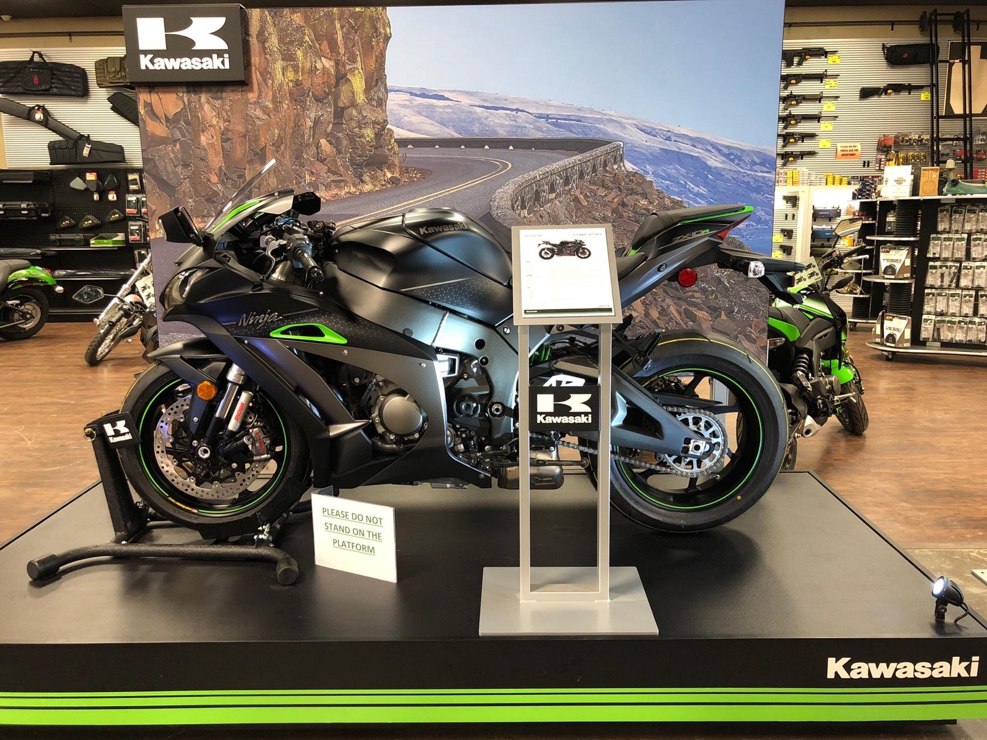 2018 Kawasaki Ninja ZX-10R SE in Tyler, Texas