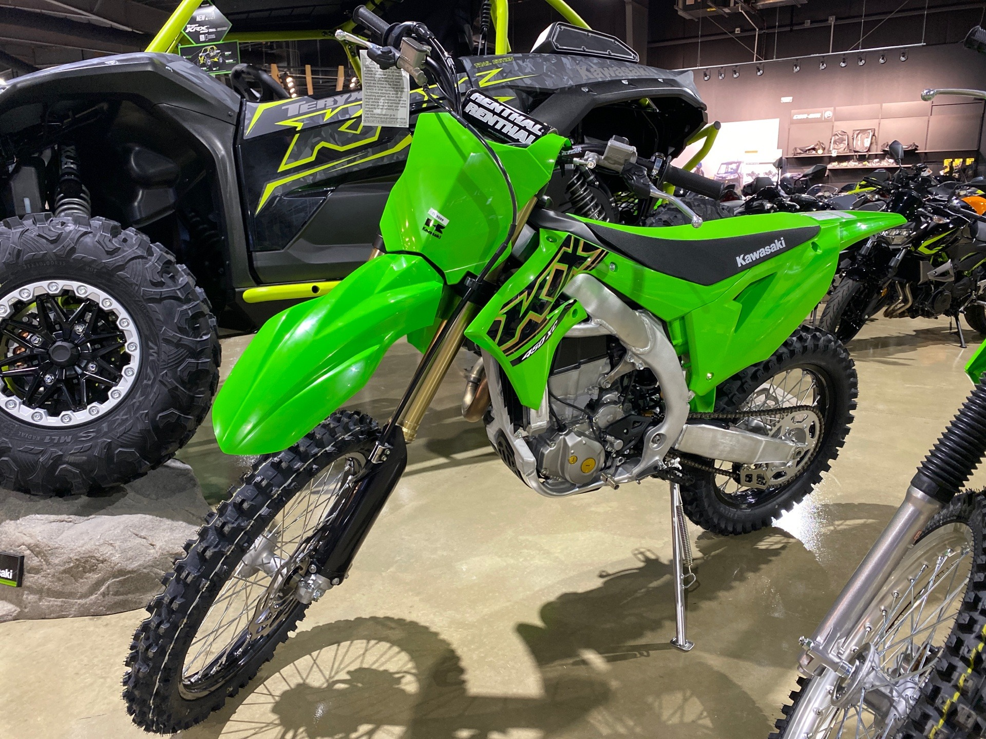 2021 Kawasaki KX 450X in Tyler, Texas - Photo 1