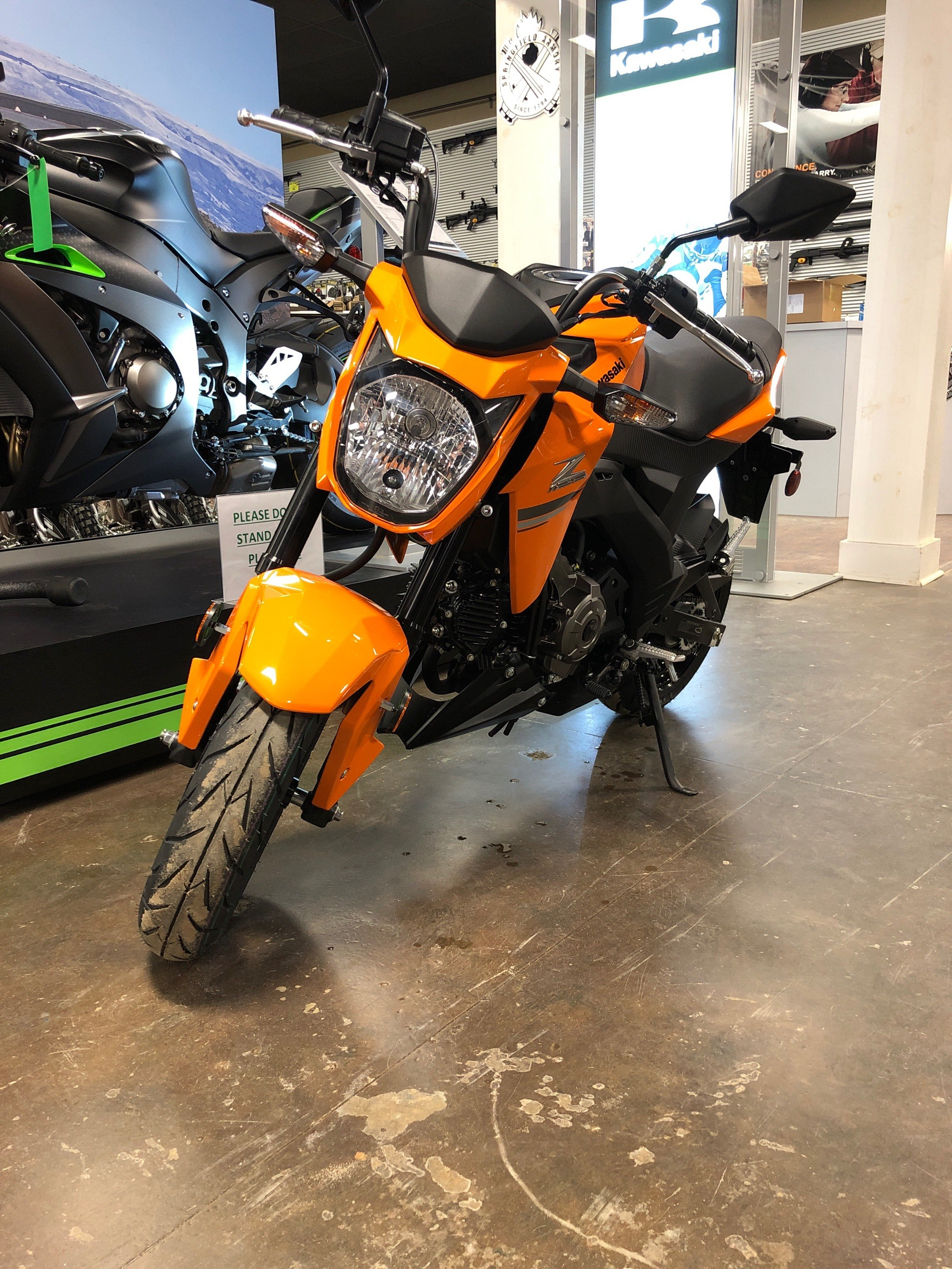 2019 Kawasaki Z125 Pro in Tyler, Texas - Photo 1