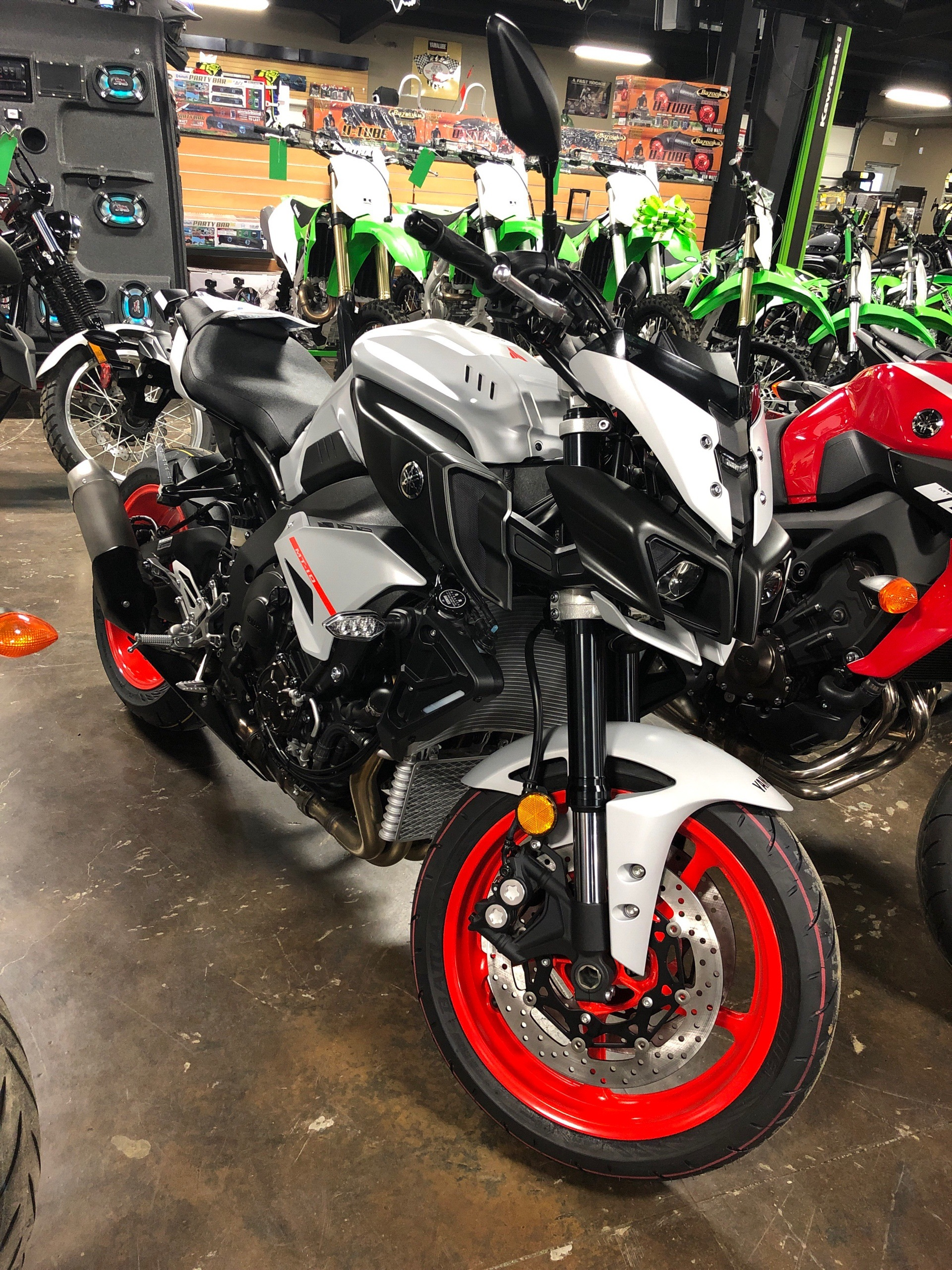 New 2019 Yamaha Mt 10 Motorcycles In Tyler Tx Stock Number 02380