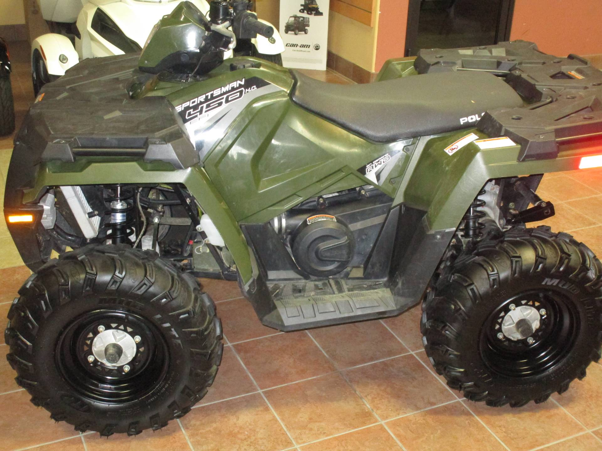 2017 Polaris Sportsman 450 H.O. in Conroe, Texas - Photo 3