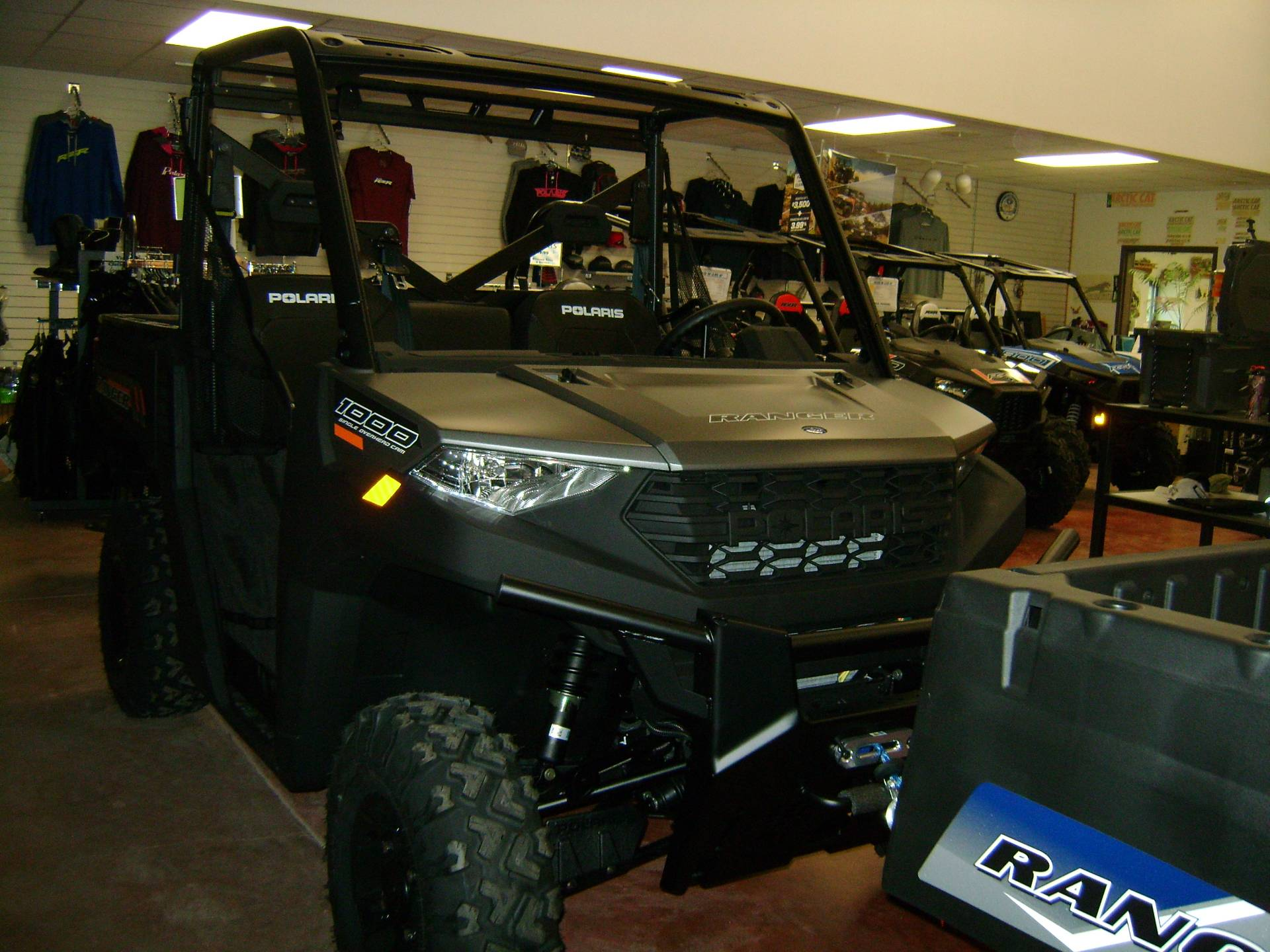 2020 Polaris Ranger 1000 Premium Winter Prep Package in Mio, Michigan - Photo 1