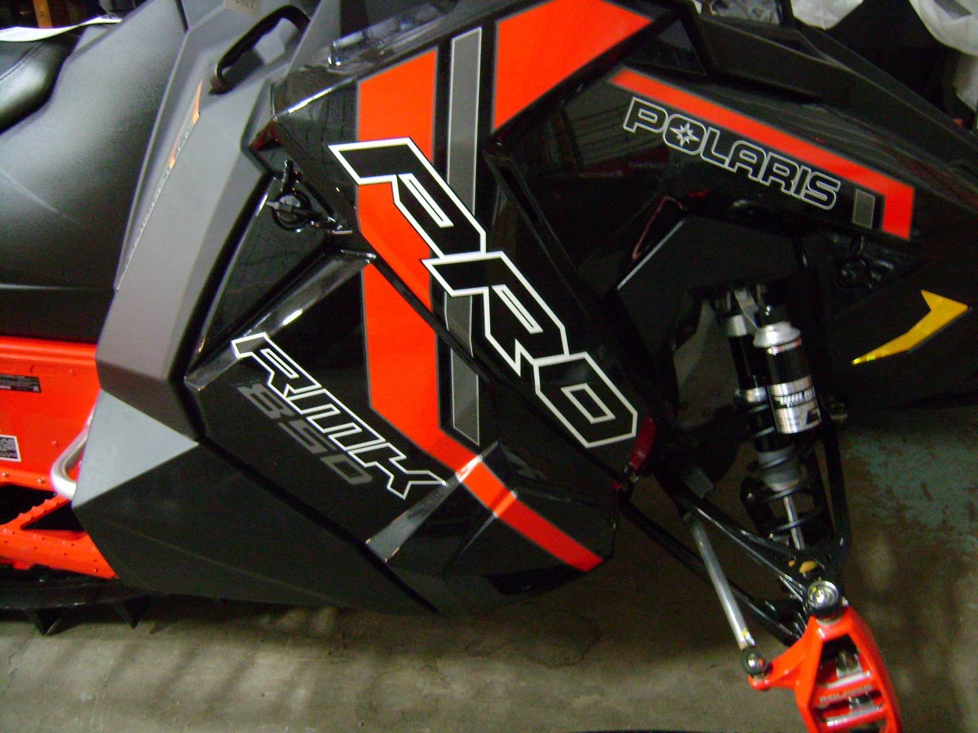 2021 Polaris 850 PRO RMK 155 2.6 in. Factory Choice in Mio, Michigan - Photo 2