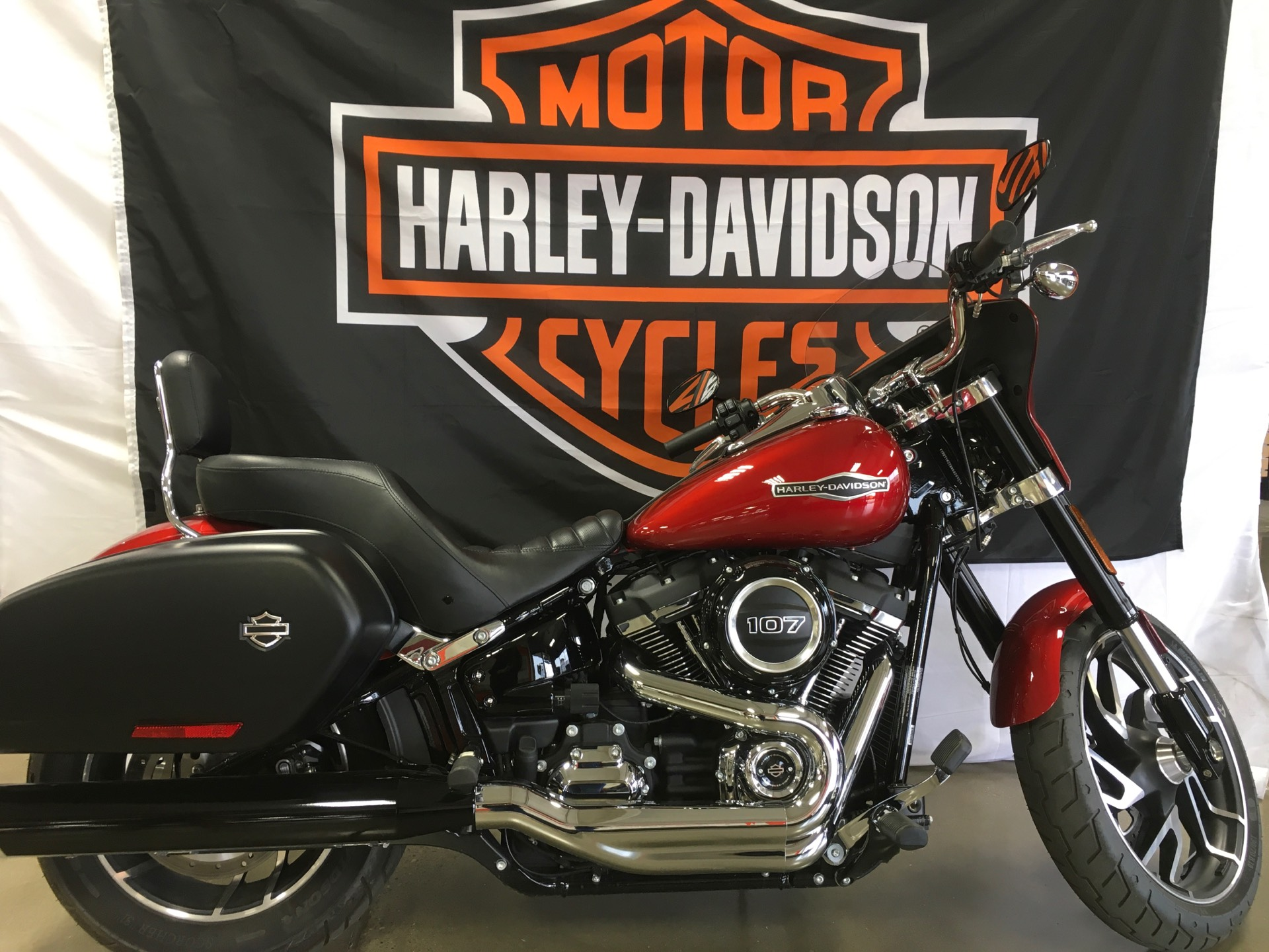 2019 Harley-Davidson Sport Glide® in Belmont, Ohio - Photo 1
