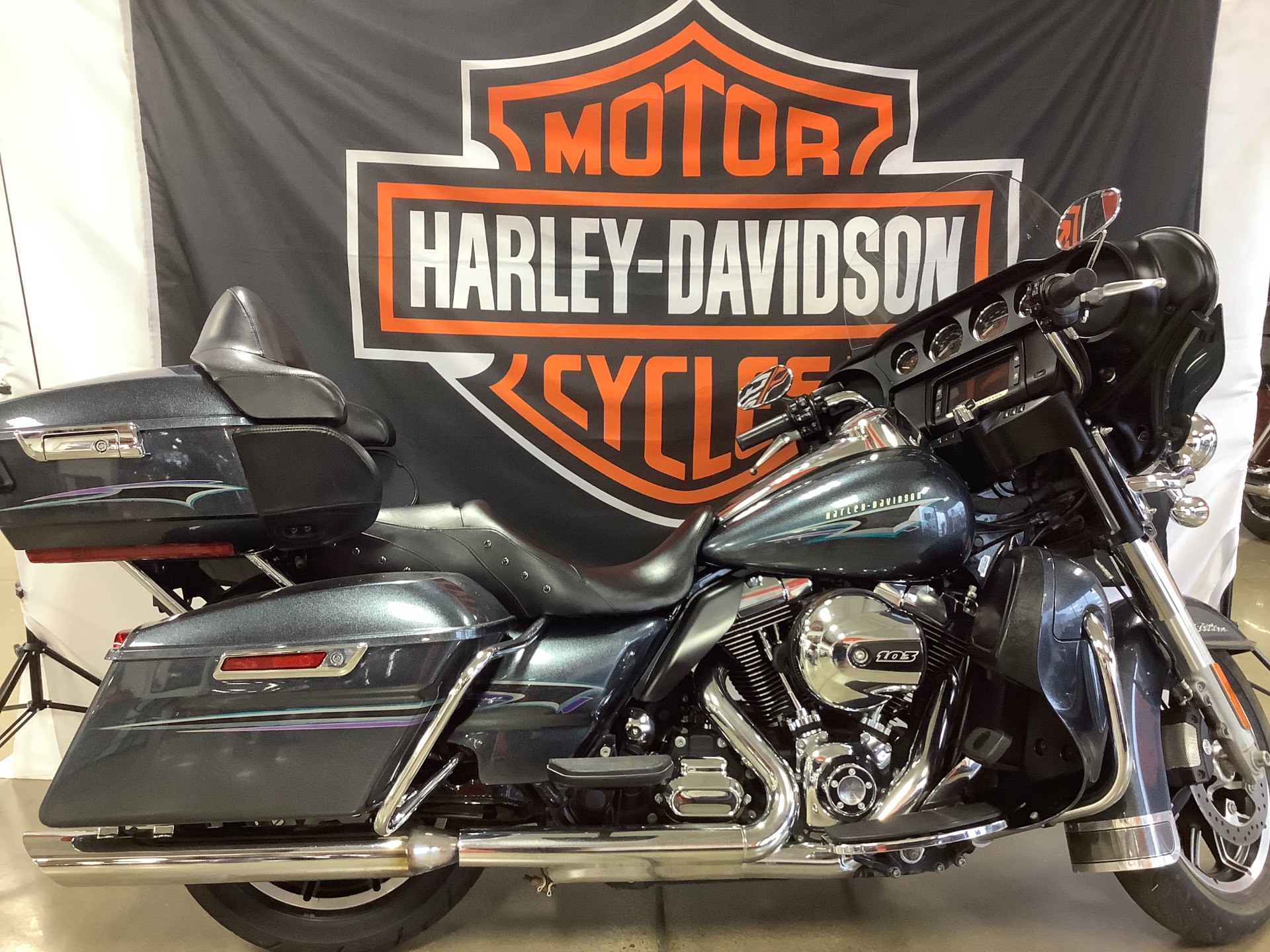 2015 Harley-Davidson Electra Glide® Ultra Classic® in Belmont, Ohio - Photo 1