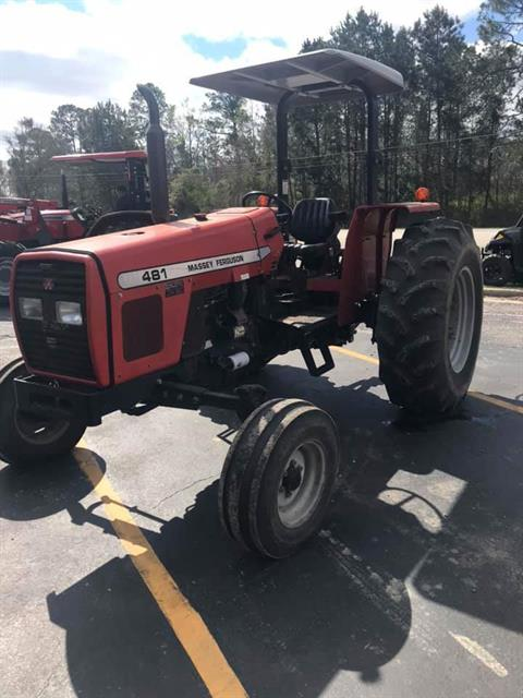 2005 Massey Ferguson MF481 in Hazlehurst, Georgia