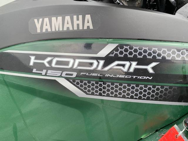 2018 Yamaha Kodiak 450 3