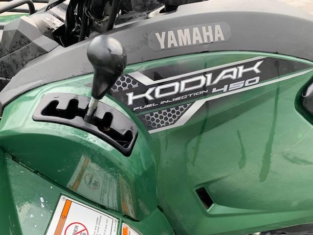 2018 Yamaha Kodiak 450 8