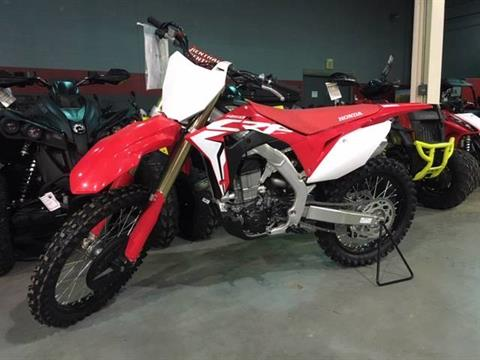 2019 Honda CRF450R in Brilliant, Ohio