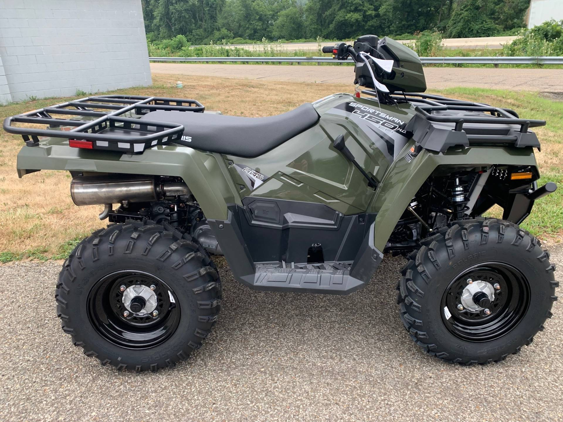 2020 Polaris Sportsman 450 H.O. Utility Package in Brilliant, Ohio - Photo 10