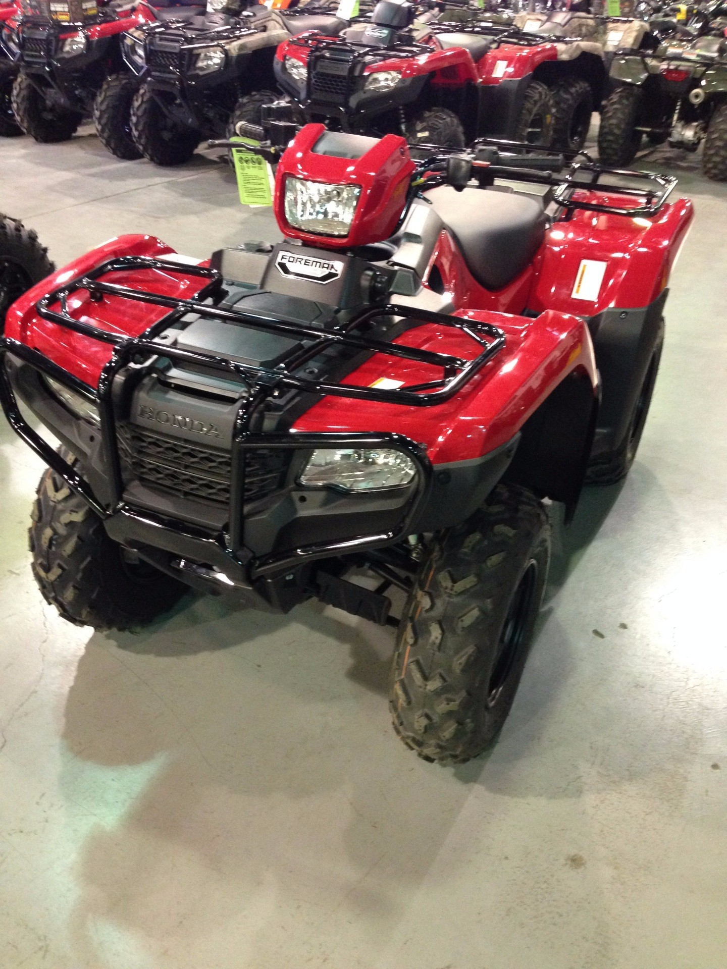 2016 Honda FourTrax Foreman 4x4 for sale 4339